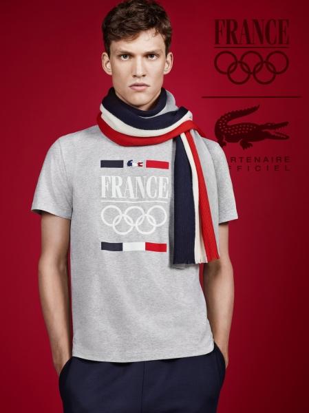 LACOSTE (ラコステ) がオリンピックフランスチームの公式ウェア・スポンサーに!